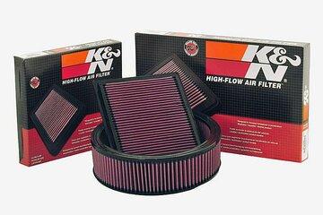 K&N High-flow air filters