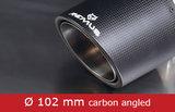"2x Ø 102mm carbon ""afgeschuind""_"