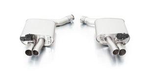 Audi RS7 [4GA] 2013- EINDDEMPER LINKS/RECHTS  met geïntegreerde klepsturing