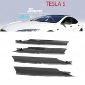 Schätz® carbon bumber finns fits Tesla S from 06/2012