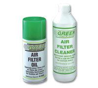 Green filters onderhoudset spuitbus olie 300ml en fles reiniger 500ml