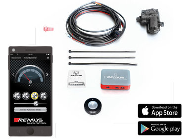 Ford Mustang 15- SOUND CONTROLLER APP CONTROLE