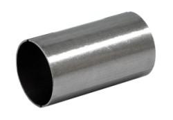 Pasbus RVS lengte 100 mm Ø 44,5mm (1,75 inch)