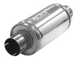 Demper Handy 63 rond 125 mm, lengte 250 mm Ø 63,5mm (2,50 inch) RVS