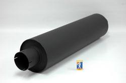 Demper Rond 200 mm, lengte 830 mm Ø 127mm (5,00 inch)