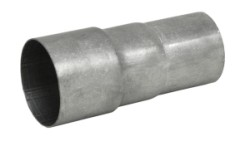 Drietraps verloopbus RVS 89/80/76 mm