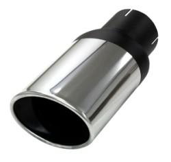 Eindstyling Ellips Ovaal 90x120 mm, lengte 270 mm Ø 76mm (3,00 inch)
