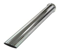 Buis verchroomd Scherp, lengte 580 mm Ø 76mm (3,00 inch)