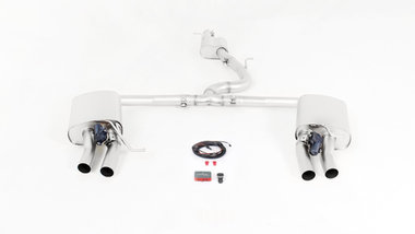 Golf VII [AU] 12- R 4motion Racing cat-back system Ø 70mm
