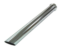 Buis verchroomd scherp, lengte 580 mm Ø 50,8mm (2,00 inch)