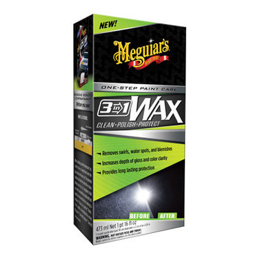 Meguiar's 3-in-1 Wax