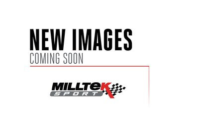 Milltek sportexhaust Volkswagen Golf Mk5 GTi 2.0T FSI 2004-2009 Cat-back Quad outlet. Resonated. Requires special rear bumper