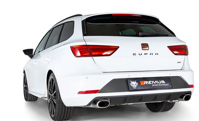 Cupra ST GPF-back-system L/R uitgang
