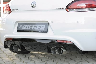 "Rieger rear skirt insert for ""R-Line"" & ""GTS"""